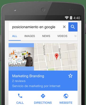 google mi negocio, como aparecer en google