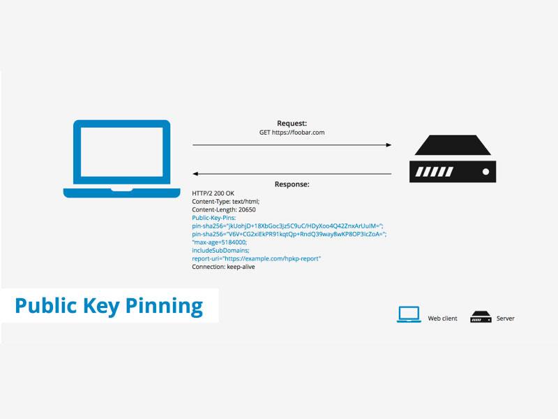 public key pinning, chrome public key