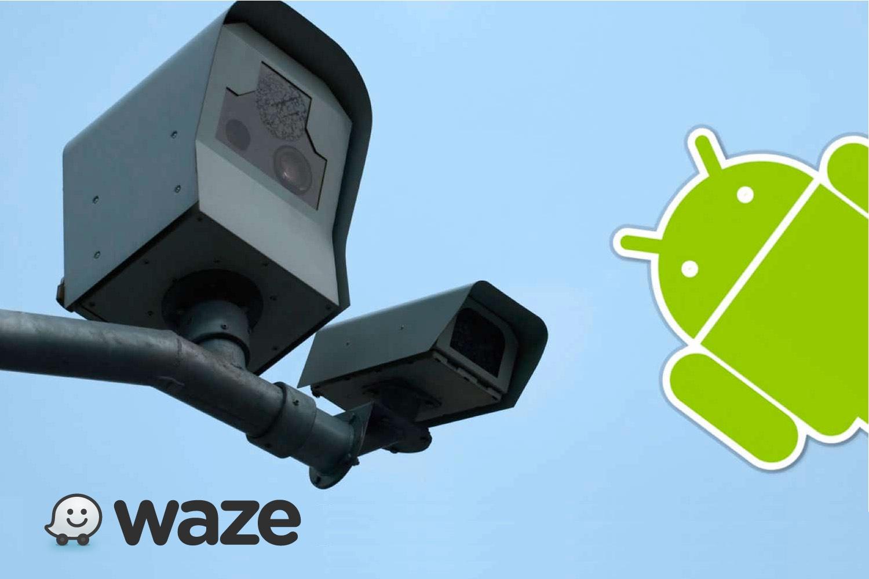 waze radares, waze para android