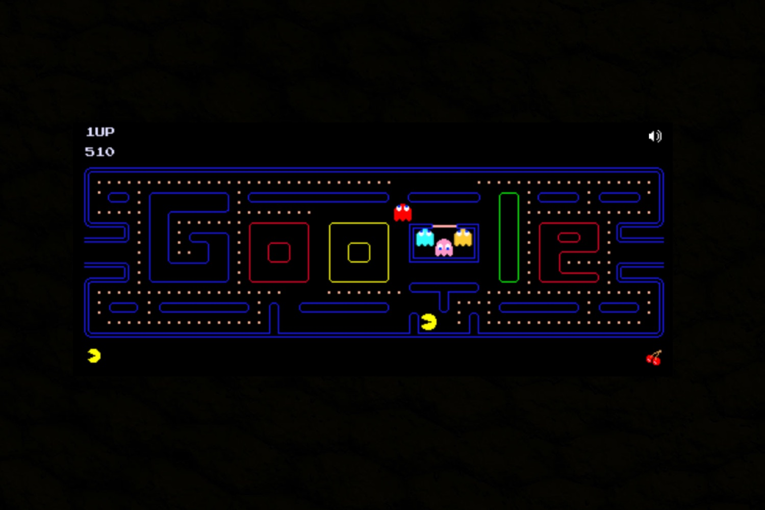 Pacman 30th Anniversary, pacman google, google doodle