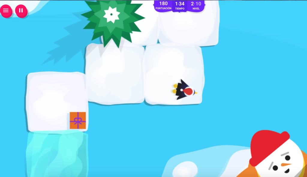 penguin dash, pinguino atraparregalos, google doodles