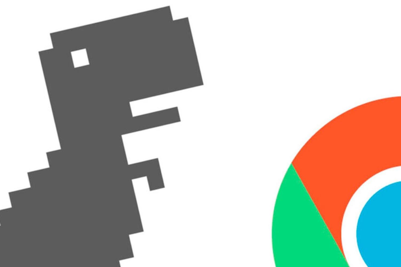 dinosaurio de google, t rex run