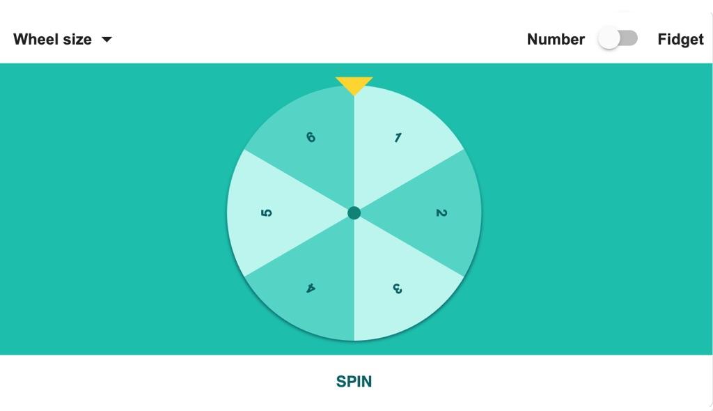 ruleta fidget spinner