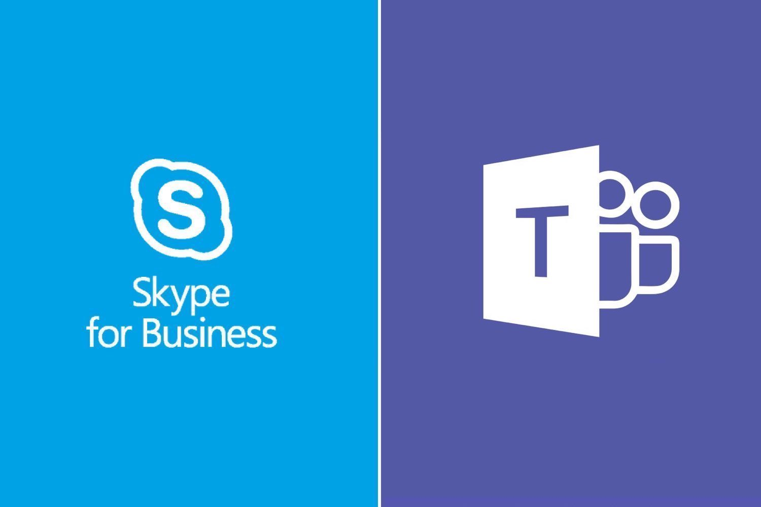 microsoft teams, skype business