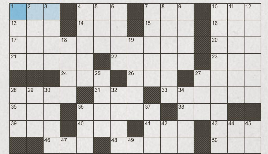 crosswords online, google doodle crosswords