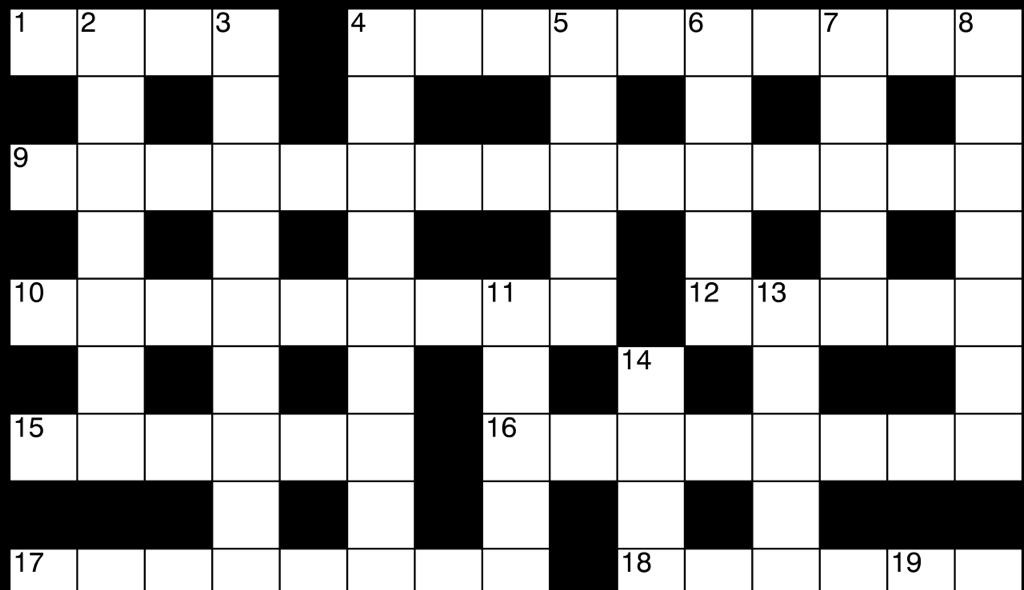 crucigrama tipo británico australiano, crosswords online
