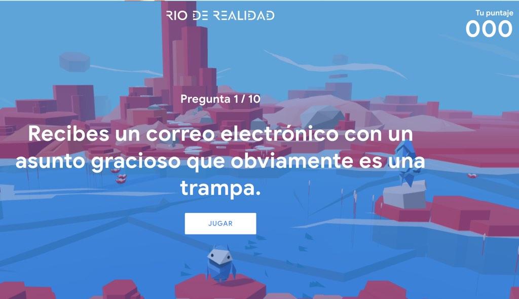 rio de realidad google
