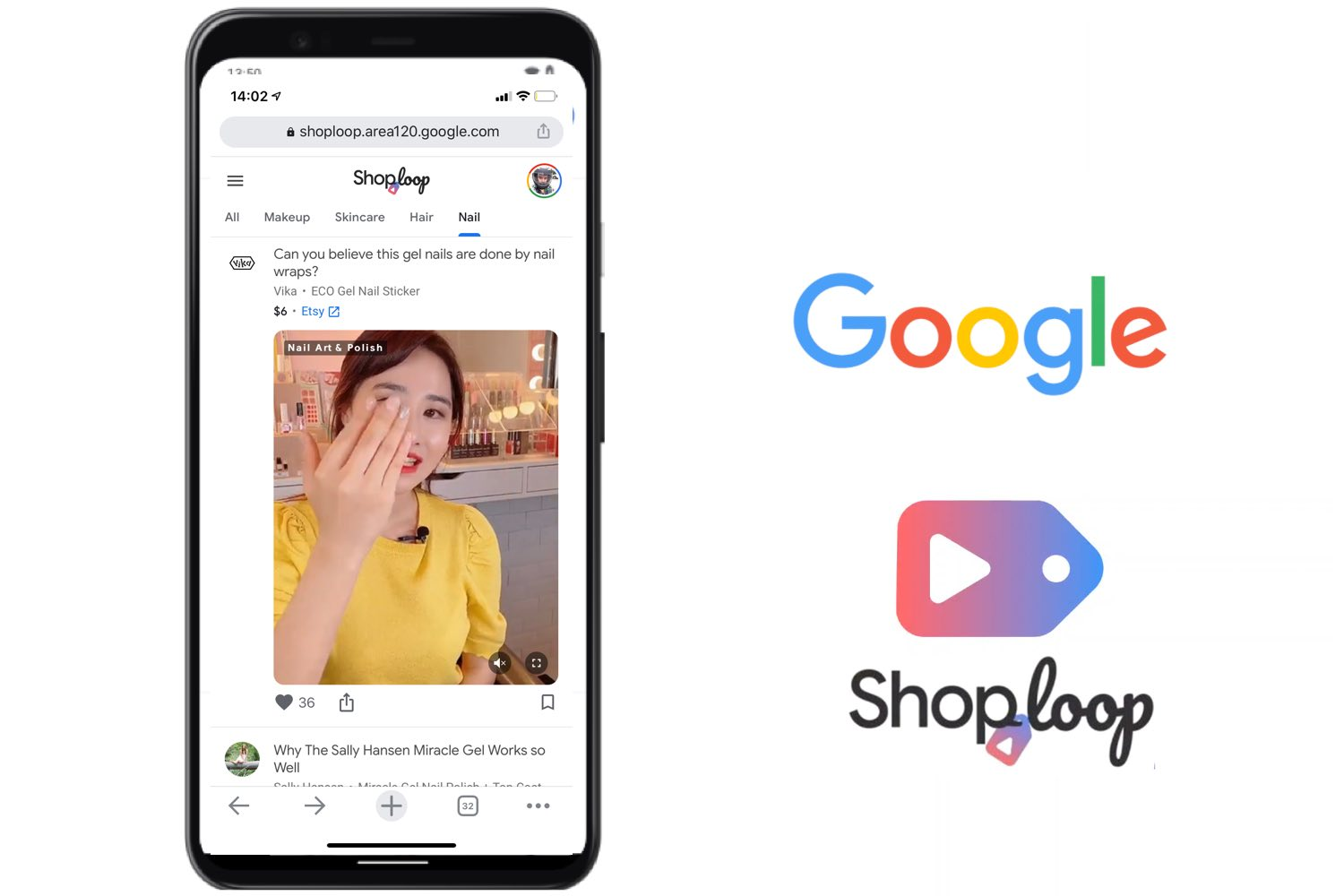 google shoploop, shoploop app
