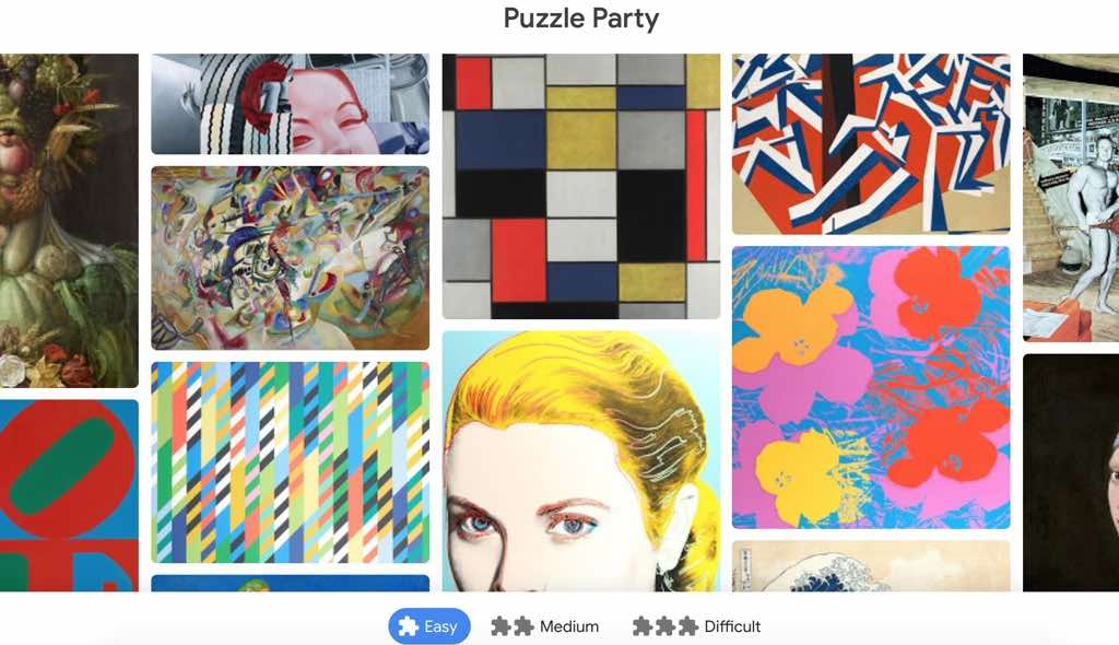 puzzle jigsaw, puzzle party