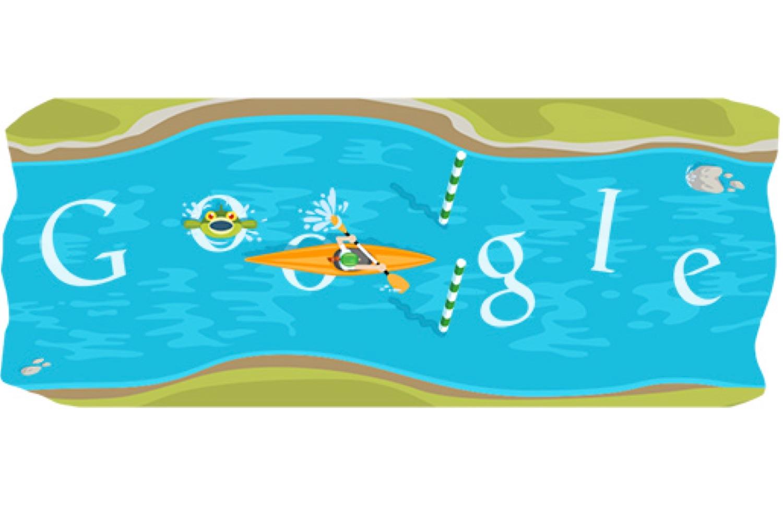 google slalom canoe 2012, google slalom canoe