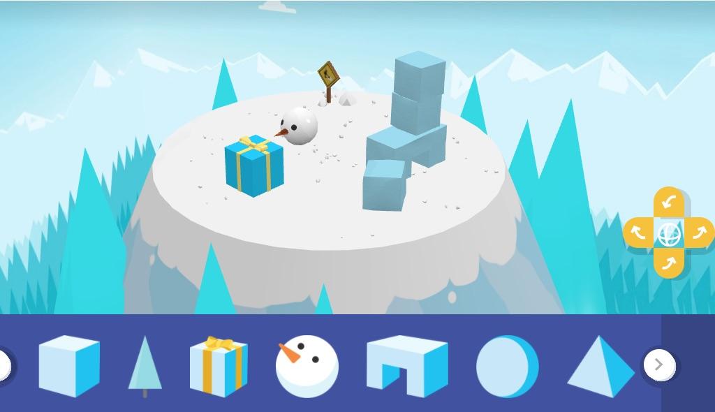 snowbox, jugar zona nevada de pruebas