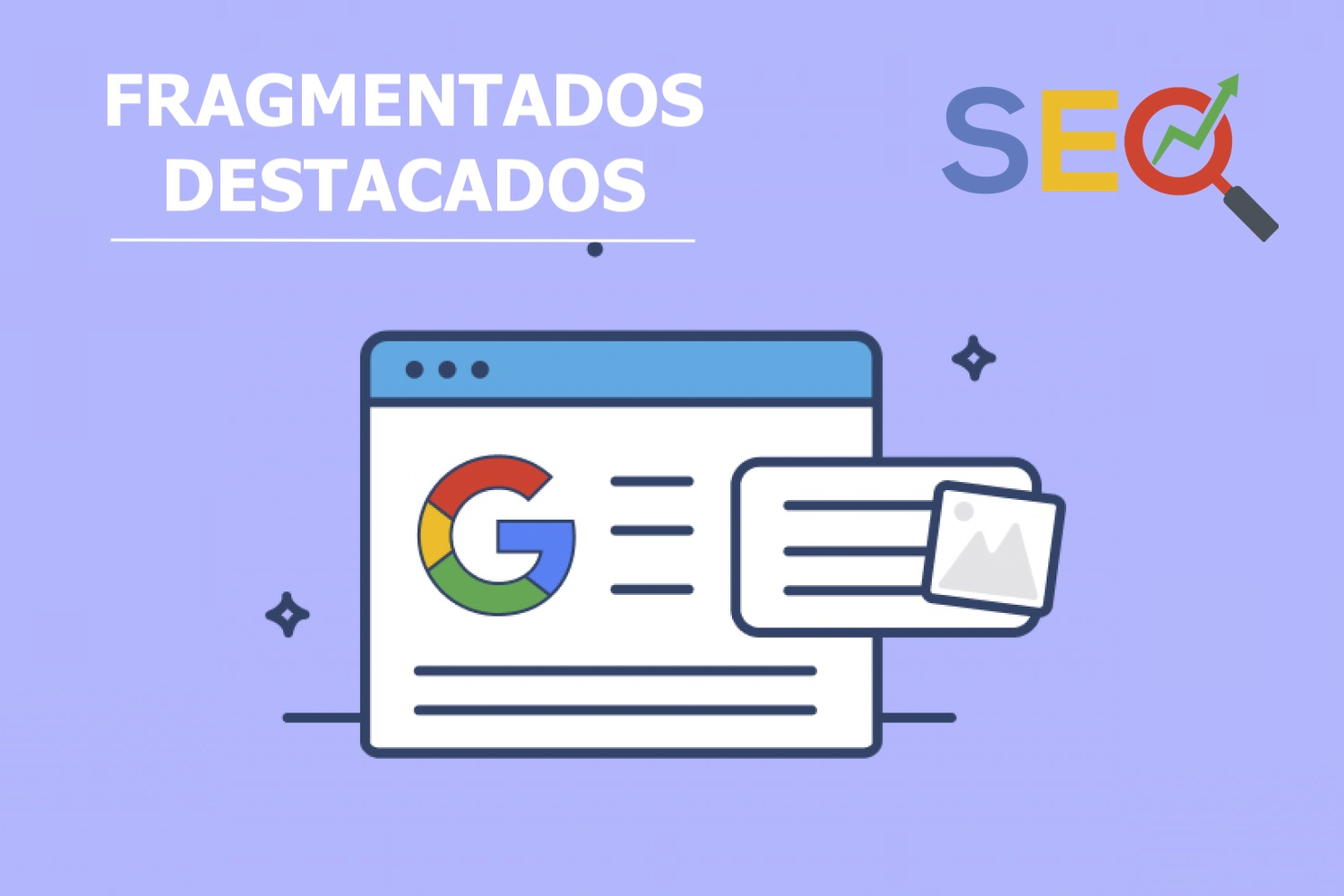 fragmentos destacados, fragmentos destacados google
