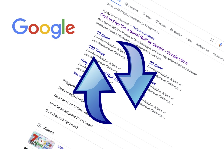 do a barrel roll, google doa barrel roll