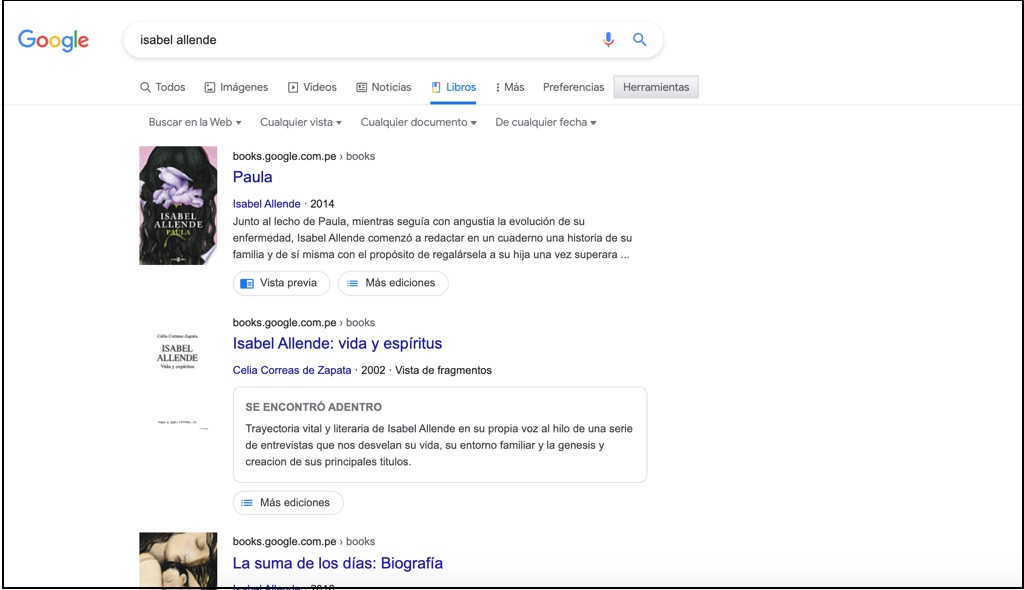 google books, google libros