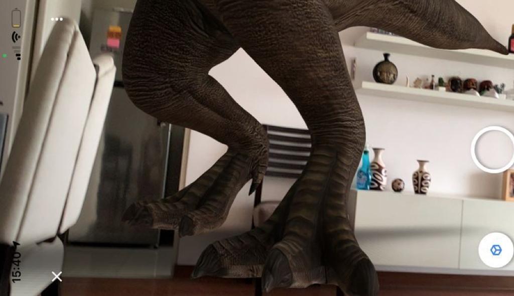 velociraptor 3d, animales en 3d