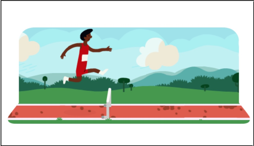 hurdles 2012 google, carrera con obstaculos google