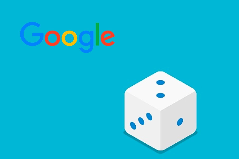 dados virtuales, lanzar dados google
